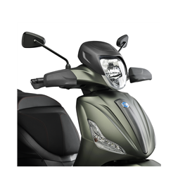 Piaggio Beverly koplamp cover