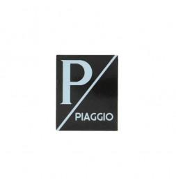 Piaggio Logo - Zwart/Zwart