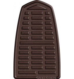 OneDesign 'Soft-Touch' Tankpad Leather Style Brown