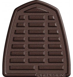 OneDesign 'Soft-Touch' Tankpad Leather Style Brown 2