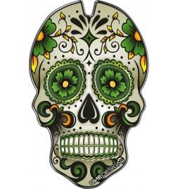OneDesign Tankpad - Green Skull