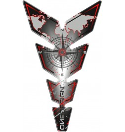 OneDesign - Compass Red Tankpad - Moon Serie