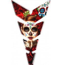 OneDesign - Mexican Red Woman Tankpad - Moon Serie